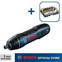 Bosch Obeng Baterai dengan MataObeng Set 27pcs 3.6Volt GO Gen2
