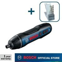 Bosch Obeng Baterai dengan Mata Bor Besi HSS-G 5pcs 3.6Volt GO GEN2