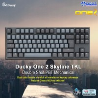 Ducky One 2 Skyline TKL Double Shot PBT Mechanical Keyboard