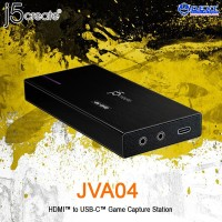 j5create JVA04 HDMI to USB-C Game Capture Station