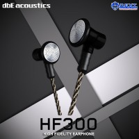dbE Acoustics HF300 High Fidelity Earphone with Microphone