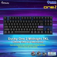 Ducky One 2 Midnight TKL Double Shot PBT Mechanical Keyboard