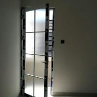 pintu alexindo, Kaca es + ornamen.