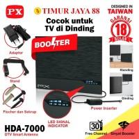 Antena TV Smart Digital Analog PX HDA 7000 Booster Indoor LED Bar