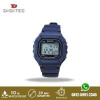 Jam Tangan Pria Digitec DG 3087 DG3087 Strap Rubber Biru