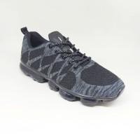 Sepatu Running Pria Ardiles Maxrunn Grey, Maroon dan Hitam