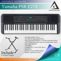 Keyboard Yamaha PSR E273 + Stand / PSRE273 Garansi Resmi -Penerus E263