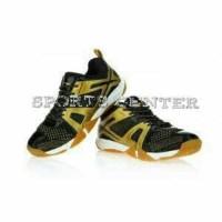NEW Sepatu Badminton Lining OMEGA AYTM087 AYTM 087 Black Gold
