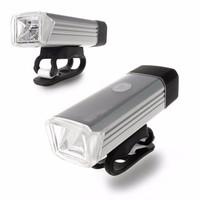 (EDCONLINE) Lampu Sepeda Lumens USB Rechargeable Bicycle Lights
