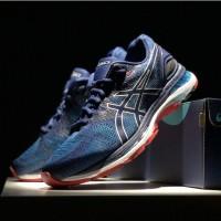 Lari Sepatu Sneakers Olahraga Pria Model Asics Nimbus 20 Untuk