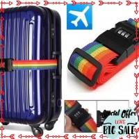 Promo Rainbow Belt case sabuk koper pelangi dengan kunci pengaman 3