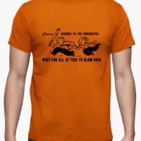 Kaos Shauns Last Chance / Zombies / Monopoly / Mens T-Shirt
