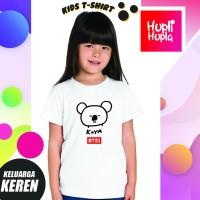 Kaos Anak Cewek Koya BT21 RM BTS Karakter Army Bangtan Boys Kpop Korea