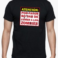 Kaos Not Feed The Zombies T-Shirt