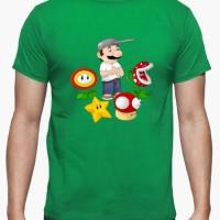 Kaos Mario Vs Zombies T-Shirt