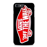Casing iPhone 8 Logo Vans Off The Wall Shoes Red A1330