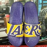 Nike Men's Benassi Just Do It Athletic Sandal lakers authentic