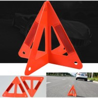 Car Warning Triangle Reflective Sign Road Emergency Breakdown Safety
