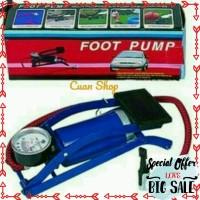 Promo Pompa Injak Besi Mobil sepeda motor onthel darurat foot pump
