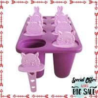 Grosir cetakan es krim cream jelly isi 8 minuman dingin loly anak