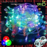 Grosir RGB lampu hias 17 agustus kerlap kerlip warna warni with mode
