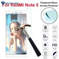 Tempered Glass Pelindung Layar Anti Knock untuk Xiaomi Redmi Note 5