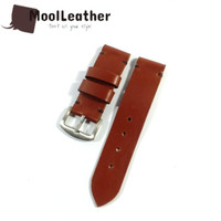 Strap tali jam tangan pria asli kulit sapi warna coklat