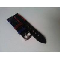 Tali Jam Tangan Kulit Asli Ikan Pari Size 22 mm - Leather Strap.