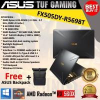 Laptop Gaming Asus Tuf Gaming FX505DY-R5698T(R5-3550H|RAM 8GB|HDD 1TB)