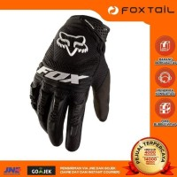 Fox Ori Premium Dirtpaw Glove Motor Full Black Sarung Tangan Gloves -