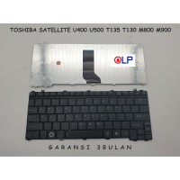 Keyboard Toshiba Satellite U400 U500 M800 T135 T130 - Black