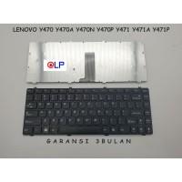 Keyboard Lenovo Y470 Y470A Y470N Y470P Y471 Y471A Y471P - Black