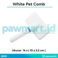 TERMURAH Sisir Putih buat Doggy Kucing Kelinci