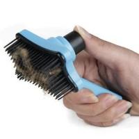 TERMURAH Sisir kucing anjing - Hair Pet Brush with button