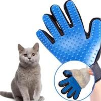 TERMURAH Sarung Tangan Pijat Sisir Grooming Bulu Anjing Kucing Hewan
