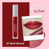 Wardah Exclusive Matte Lip Cream (ORIGINAL 100%)