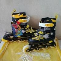 Sepatu Roda Power Superb Free Dekker Pelindung Lutut Sikut Dan Tangan