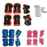 Promo Dekker Hitam Pelindung Sikut Lutut Dan Tangan Promo !!!