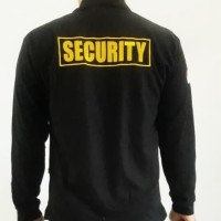 MURAH!! KAOS KERAH SECURITY LENGAN PANJANG LOGO WINGS- KAOS SECURITY