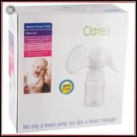 Claires Manual Breast Pump Bp-A10 Pompa Asi