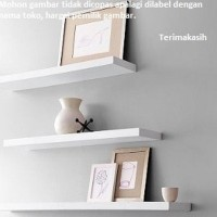 PROMO Perabotan Rumah Tangga Floating Shelves 3 buah pilihan warna