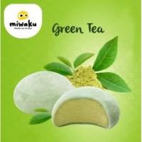 Mochi Ice Cream Miwaku Green Tea (isi 3pcs)