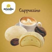 New - Mochi Ice Cream Miwaku Cappuccino (isi 3pcs)
