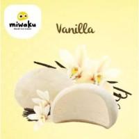 Mochi Ice Cream Miwaku Vanilla (isi 3pcs)