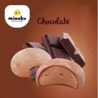 Mochi Ice Cream Miwaku Chocolate (isi 3pcs)