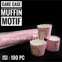 [ CUP MUFFIN KECIL ] PAPER CUP SMALL MUFFIN MOTIF ISI 50 PC