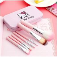 Kuas Make Up Hello Kitty Brush 7 pcs