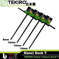 Paket 4 Kunci Sock T Tekiro - PROMO