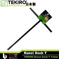 Tekiro Kunci Sock T 13 MM - Kunci T Tekiro 13mm Hitam