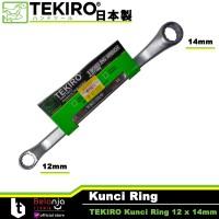 Tekiro Kunci Ring 12 x 14 mm - Kunci Ring Tekiro 12 x 14mm